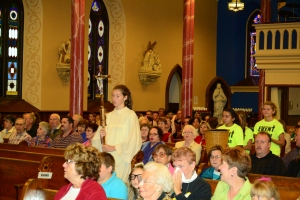 St. John's Honesdale Youth Mass