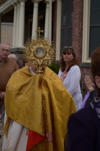 Fr. Langan St. John Honesdale Blessed Sacrament